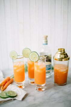 Carrot Ginger Cocktail Recipe