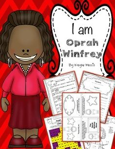 Oprah Winfrey Black History Month Teachers Pay Teachers