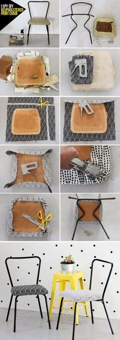 Cómo reciclar una silla vieja | La Garbatella: blog de decoración, estilo nórdico.