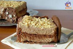 Semifreddo al cioccolato al latte e biscotti Pan di stelle, ricetta dolce freddo senza cottura e senza bisogno di accendere il forno. Blog giallo zafferano