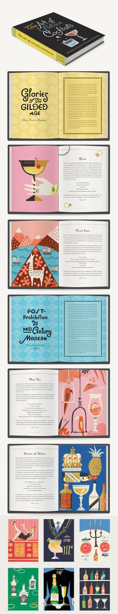 The Art of Vintage Cocktails, a book containing over 50 vintage recipes by Danielle Kroll
