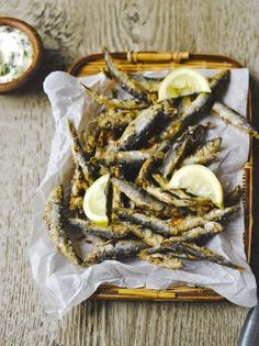 Whitebait & dill mayo | Jamie Oliver