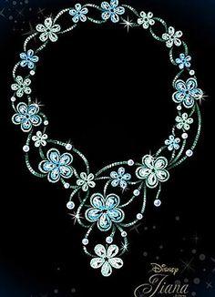 "Chopard gets Christmassy and launches ""Disney Princess Collection"" - Tiana  smallworldbigfun.com  #disney #disneyjewelry #chopard"