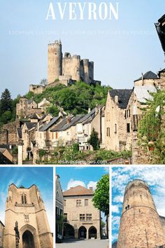 Découvrez les bastides du Rouergue ces villages remarquables d'Aveyron et partez à la rencontre de Villefranche de Rouergue, Najac et Villeneuve d'Aveyron. #Aveyron #Bastides #France France Europe, South Of France, France Travel, Villeneuve, Belle France, Destinations, Beaux Villages, Provence France, Medieval Castle