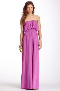 Layer Front Maxi Dress by Luma on @HauteLook