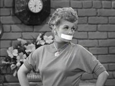I Love Lucy - The Gossip (1952 - #1.24)~ Ricky and Fred bet Lucy and Ethel that they can keep from gossiping longer than their wives. The winners are to be served breakfast in bed for a month. Ricky tells Lucy some gossip while pretending to be asleep, so that Lucy will spill the news to Ethel and make the girls lose the bet. Watch for the classic moment when Lucy does charades in this episode.