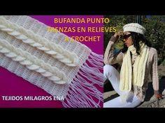 Crochet Pattern - cable crochet stitch - YouTube