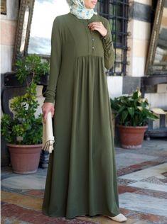 Islamic Clothing for Women: New Fall Collection Mode Abaya, Mode Hijab, Abaya Fashion, Fashion Dresses, Hijab Style Dress, Abaya Style, Moslem Fashion, Hijab Fashionista, Islamic Fashion