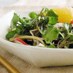 Watercress Salad with Fennel and Citrus by Cooking Light