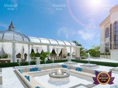 Facade Design, Exterior Design, House Design, Design Design, Interior Design Companies, Home Interior Design, Outdoor Rooms, Outdoor Living, Ancient Greek City