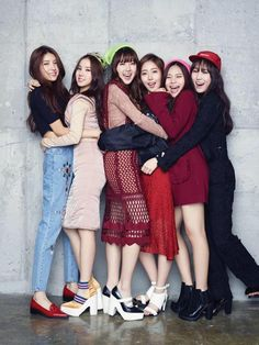 not a HUGE fan of G-friend but this is an adorable picture