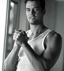 Josh Duhamel - Look at those slight bulge of the muscles. Ready for a workout... This guy could work me up, work me out any time, day, or way. Gosh! Drooool!