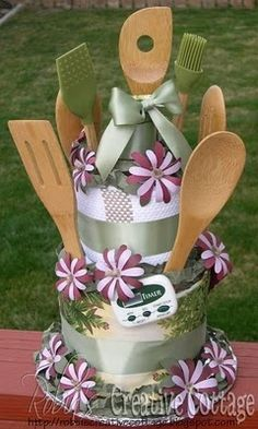 Angee's Eventions: Kitchen Shower, a Non Traditional Bridal Shower