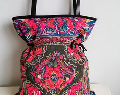 Handmade Unique and Authentic Hmong Bags on sale in my online shop for those that appreciate real pieces of art. Handmade Fabric Bags, Hobo Chic, Pink Dye, Tribal Bags, Ethnic Bag, Vintage Fabrics, Birthday Shirts, Tote Bag, Leather