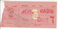 Ticket Cinema Since 1983 Radio Cinema Paper Shopping Bag, Ticket, Cinema, Movie Posters, Movies, Film Poster, Popcorn Posters, Film Posters, Movie Theater