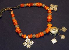 Moroccan amber necklace-North African Necklaces
