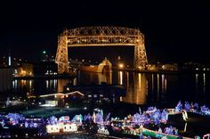Arthur Anderson and Bentleyville! Perfect Duluth picture!