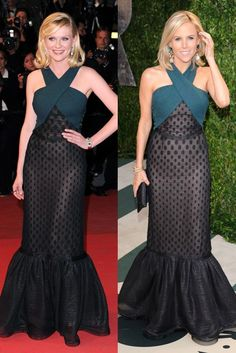 Who wore it best Kirsten Dunst and Tory Burch