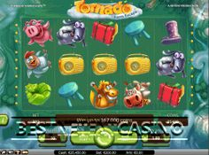 Play for free Tornado farm escape video slot by Netent