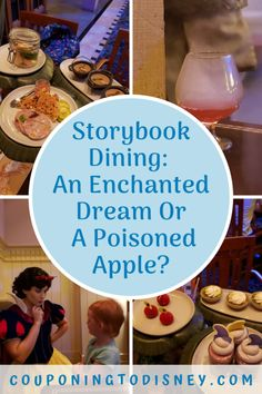 Storybook Dining: An Enchanted Dream Or A Poisoned Apple? Gooseberry Pie, Disney Dining Plan, Walt Disney World Vacations, Stone Fruit, Disney World Tips And Tricks, Menu Restaurant, Yummy Drinks, Enchanted, Restaurants