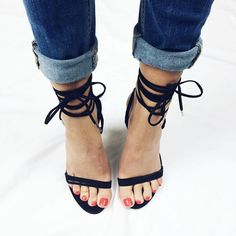 """all tied up//CRYSTAL @jessiwebb #windsorsmith #wscrystal #tiedup #sexy #heels"""