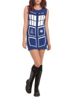 Doctor Who Her Universe TARDIS Dress
