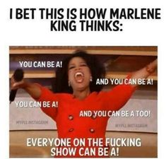 """How I.Marlene King decides who the next villain is: 