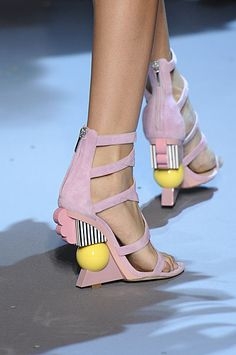 """Goldsculpt I"""" Couture Shoes by Andreia Chaves"""