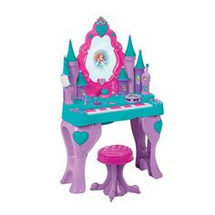 "Disney Princess - Ariel Keyboard and Vanity - Creative Designs - Toys""R""Us Toys For Girls, Kids Toys, Princesa Ariel Da Disney, Little Mermaid Room, My Princess, Disney Princess, Princess Toys, Toddler Christmas Gifts, Toddler Girl Gifts"