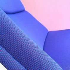 Smooth upholstery by Anne Spit with textile DROP in colour 761 (Winegum) on the by Geoffrey D. Harcourt for Artifort. Upholstery, Fabrics, Smooth, Textiles, Drop, Colour, Knitting, House, Instagram