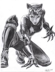 Catwoman by ~Nicolemarielenz