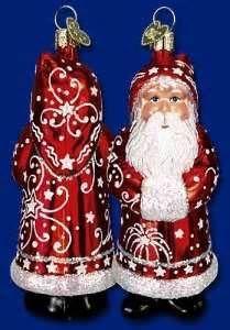 Candy Mold Santa #40152 Merck Old World Ornament