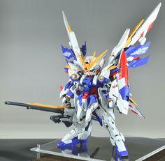 POINTNET.COM.HK - GBWC2016 日本 SD改裝作品 Wing Gundam Dominion