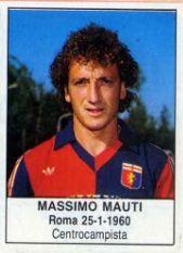 MASSIMO MAUTI 1985-86 GENOA