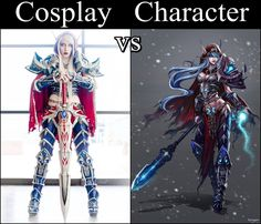 Blood Elf Death Knight from World of Warcraft  Cosplayer: Lightning Cosplay