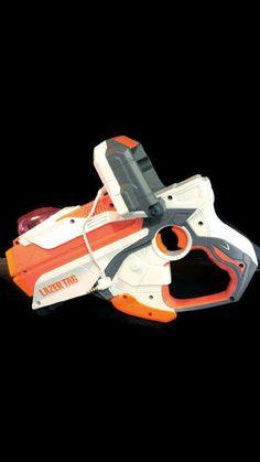 2012 Hasbro Lazer Tag Single Blaster Gun A0547/A0548 iPhone or iPod Touch #Hasbro