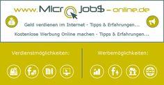 Geld verdienen mit Facebook und anderen Sozialen Netzwerken im Internet... Alle seriösen Verdienstmöglichkeiten im Überblick auf http://www.microjobs-online.de