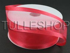 Organza Ribbon, Tulle Fabric, Ribbons, Watermelon, Satin, Colorful, Crafts, Bias Tape, Manualidades