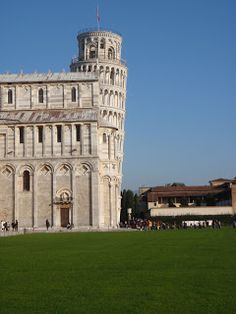 Duomo and Tower  Pisa, Italy