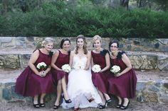 Classic & Elegant Bride and Maids by Total Brides hair & makeup