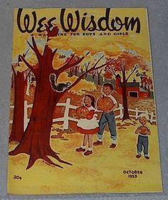 Vintage Halloween Magazine ~ Wee Wisdom ©October, 1953