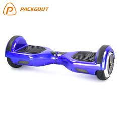 Packgout 6.5 Inch Two Wheels Mini Smart Self Balancing Scooter with Samsung Li-ion Battery and Benz Tyre,blue