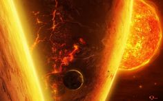 Fire In Space iPhone s Wallpaper Science Pinterest