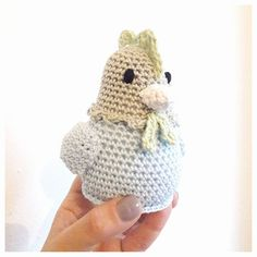 Studio Bees & Appletrees: KIPJE HAAKPATROON - CHICKEN CROCHETPATTERN