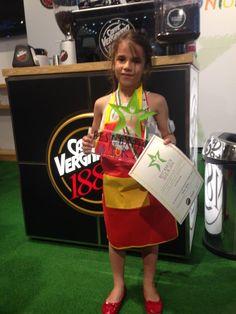 La più piccola concorrente del Best Barista Junior