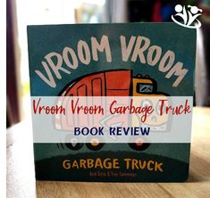 Vroom Vroom Garbage Truck is a bright and sturdy board book about a day in the life of a garbage truck. Garbage Truck, Vroom Vroom, Troy, Toddler Activities, Toddlers, Asia, Trucks, Teaching, Kids