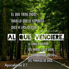 Apocalipsis 2:7 Trust God, Decir No, Apocalypse, Psalms, I Love You, Dios, Trust In God