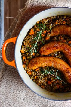 Lentils and Sausage recipe