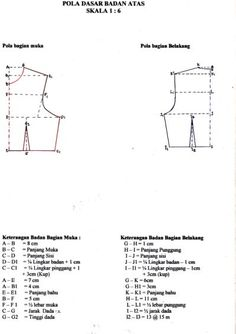 Sewing Fashion Patterns Costura 40 Ideas For 2019 Dress Sewing Patterns, Sewing Patterns Free, Sewing Tutorials, Sewing Projects, Sewing Diy, Pattern Drafting Tutorials, Tutorial Sewing, Diy Clothes Tutorial, Pola Lengan