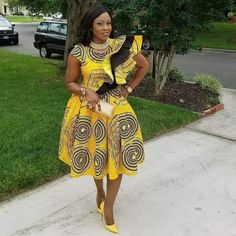 If yes, try some of the latest Ankara styles we have lined up for you today. They are sexy, sassy and look absolutely gorgeous. Amazing is the world of Ankara fashion with the rate at which new styles are coming in vogue. In 2017 only African Dresses For Women, African Print Dresses, African Print Fashion, African Fashion Dresses, African Attire, African Wear, African Women, Ankara Fashion, Ankara Designs